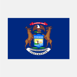 Flag of Michigan
