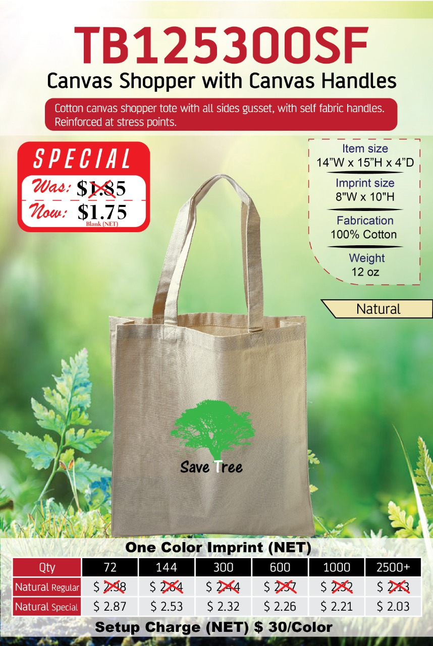 Heavy Canvas Bag at Lowest Price
