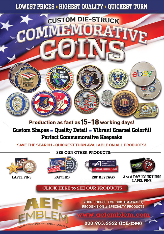 Quality Challenge Coins! Low Minimums!