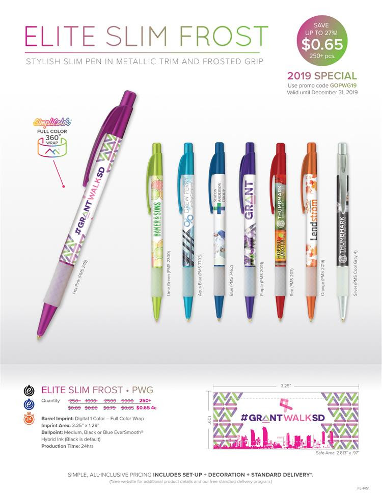 Save up to 27% On The PWG Pen