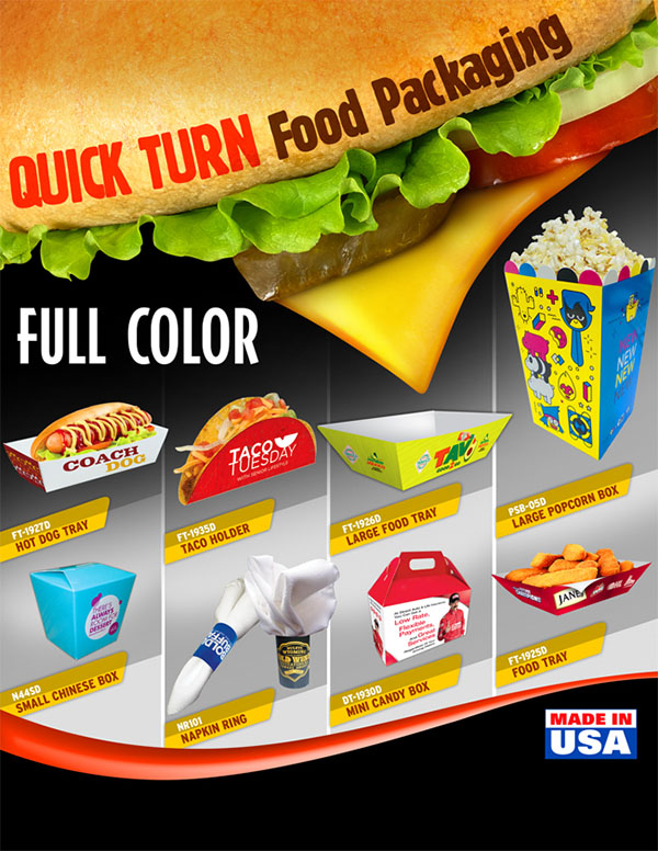 Fast Packaging For Fast Food