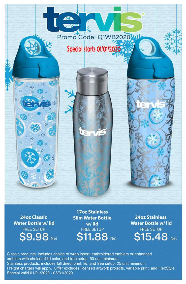 Tervis 2020 Specials Launching soon