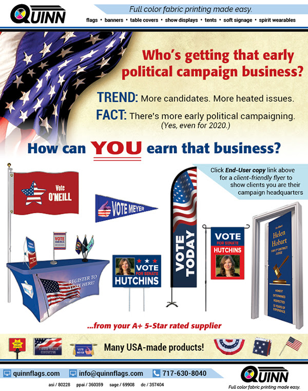 How YOU can generate political campaign business brewing now