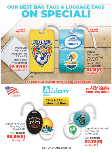 Best Bag Tags & Luggage Tags On Special!