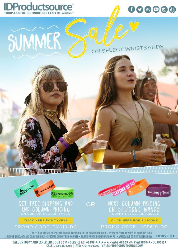 Summer Flash Sale on Bands