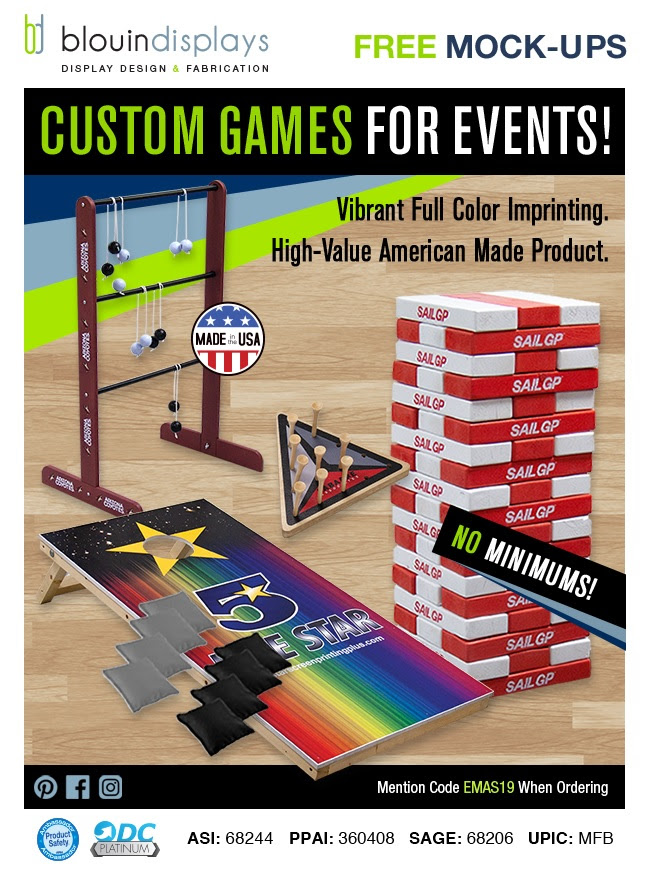 Custom Games for Fall Events - Made in the USA