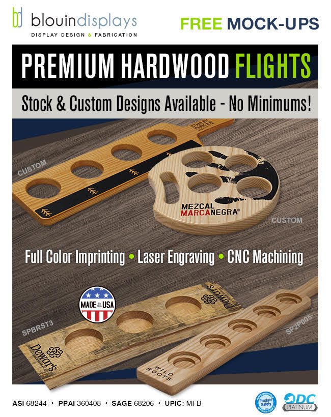 Premium Hardwood Flights