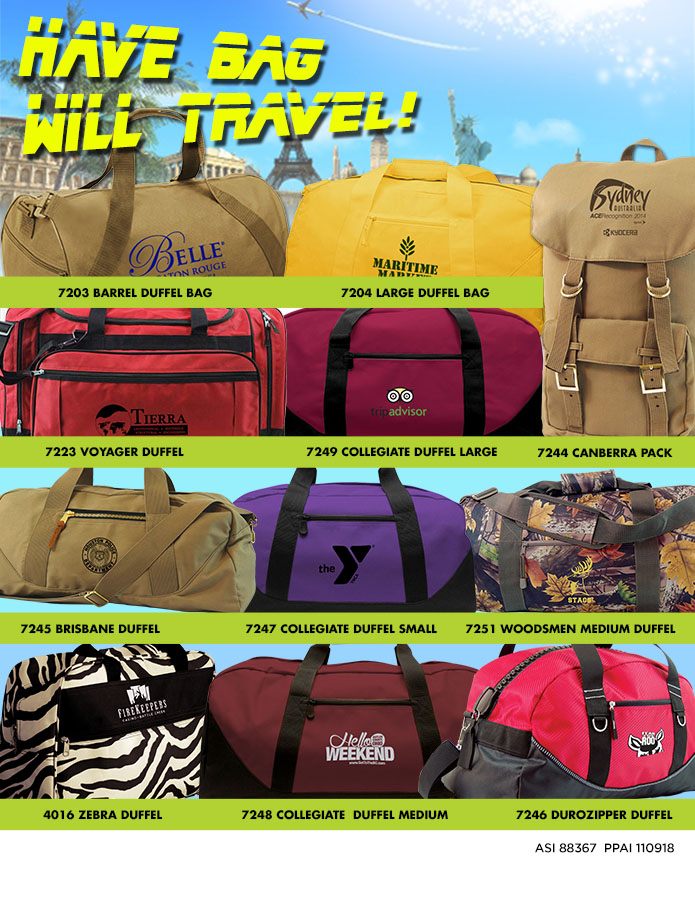 Have Bag Will Travel!