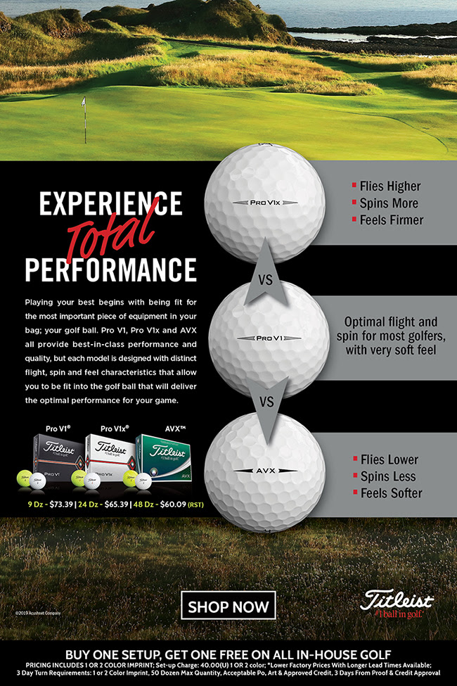 Titleist: Experience Total Performance