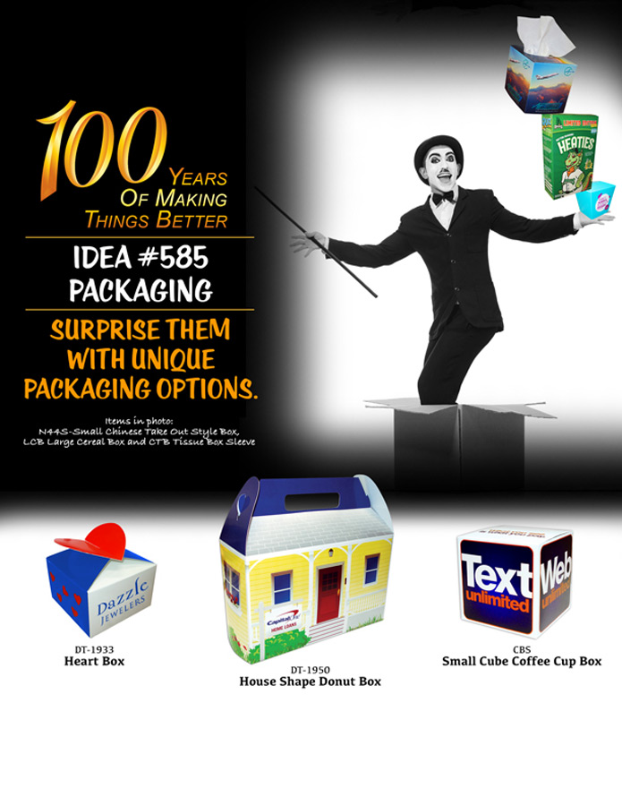 Surprise Them With Unique Packaging Options