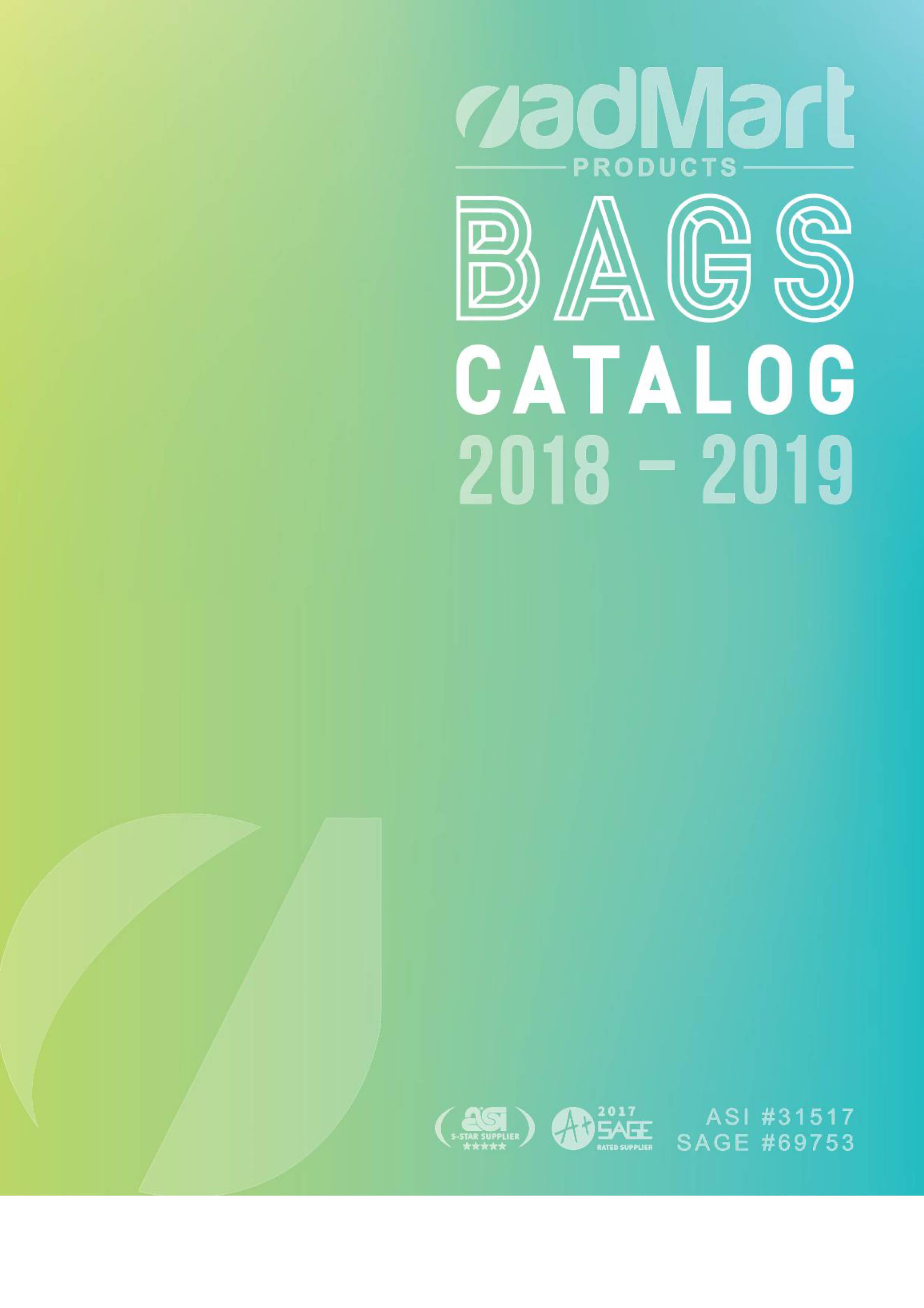 Bags Catalog 2018-2019