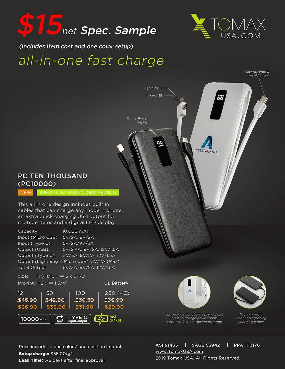 All In One Fast Charge