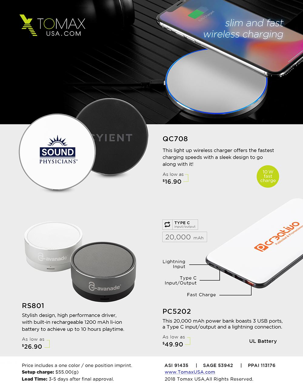 Slim & Fast Wireless Charging