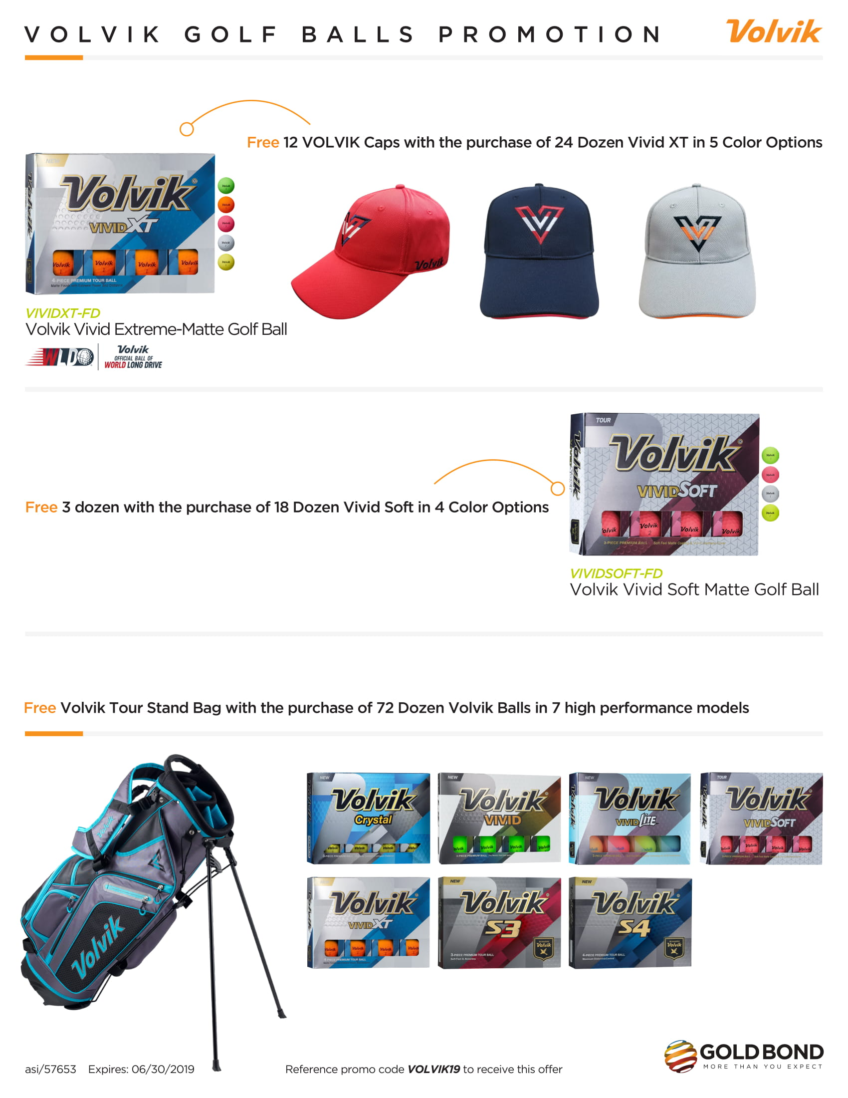 Volvik Golf Balls Promotion