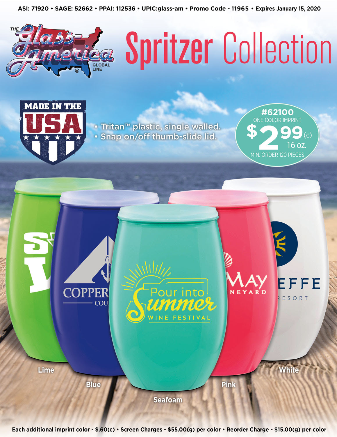 The Spritzer Collection by Glass America