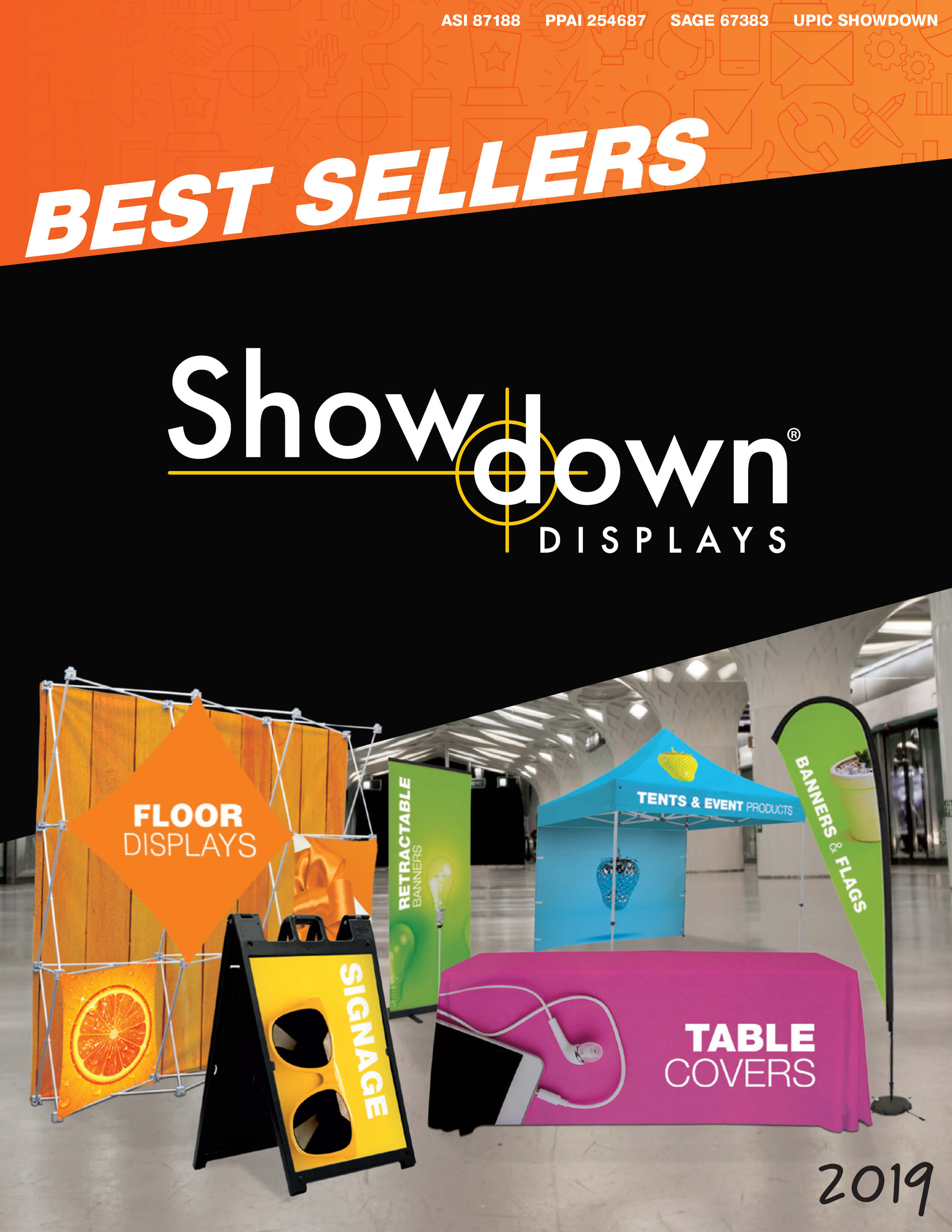 Show Down Best Sellers 2019