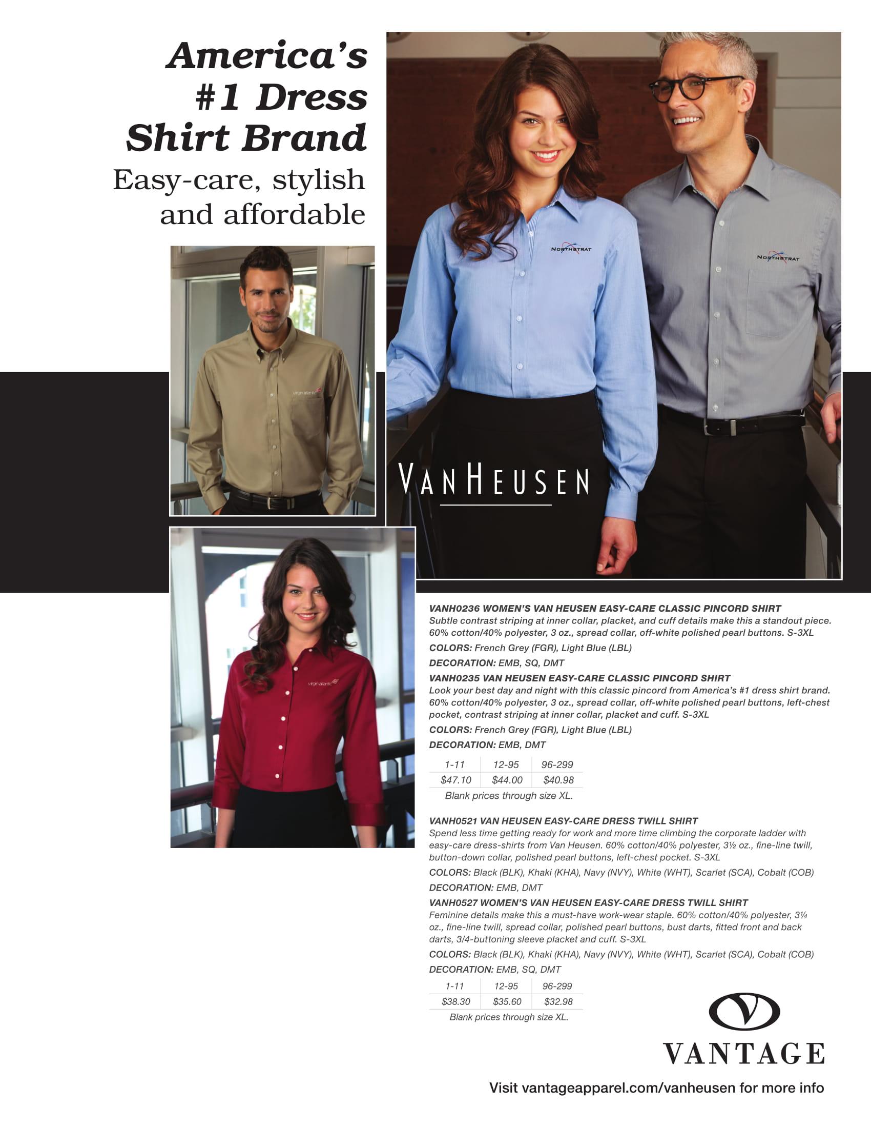 America's No 1 Dress Shirt Brand