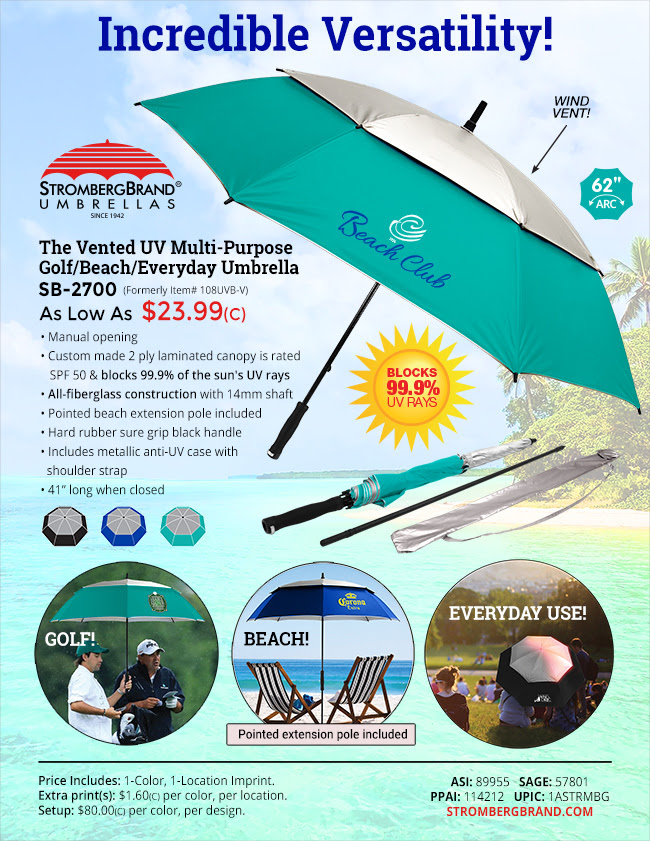 UV Protection for Golf, Beach and Everyday Use!