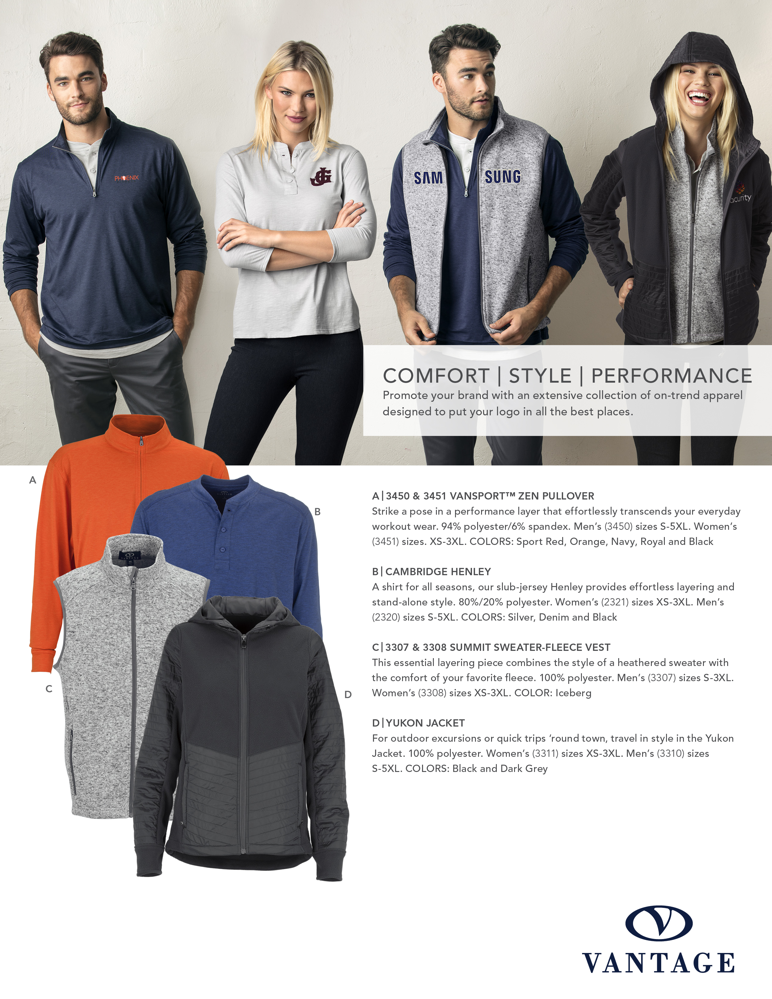 Comfort Style Performance