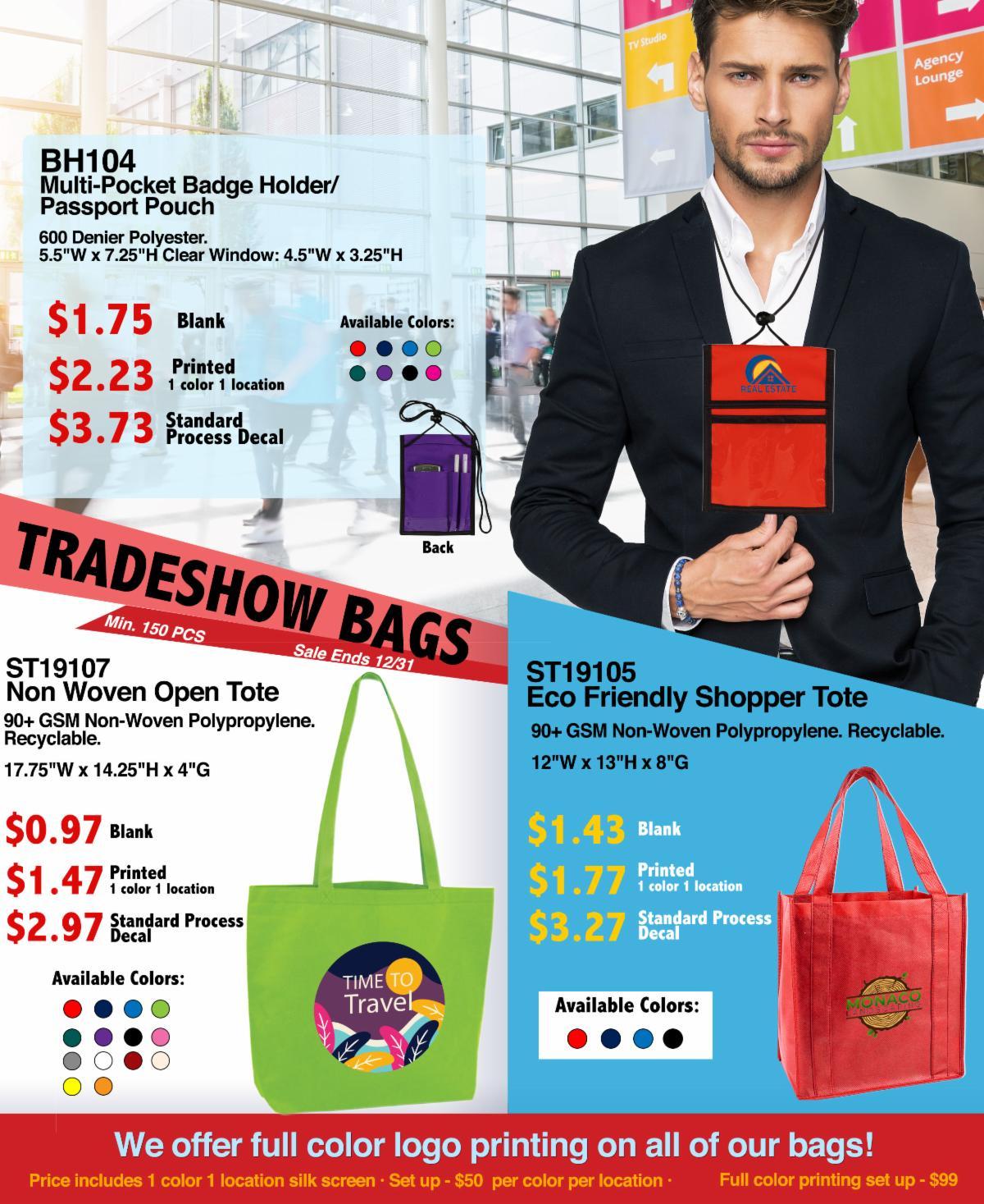 Tradeshow Bag Ideas