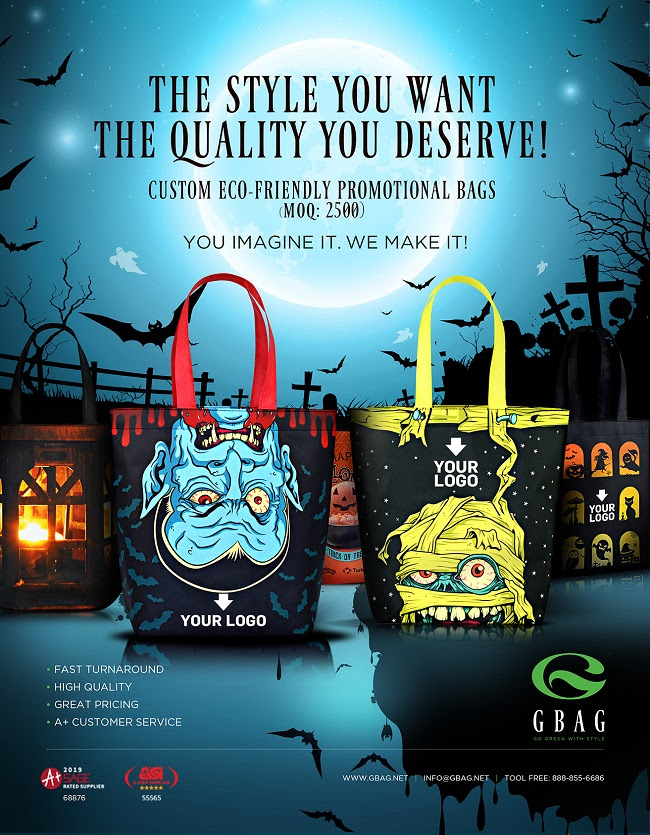 Customize Your Bags for Halloween!