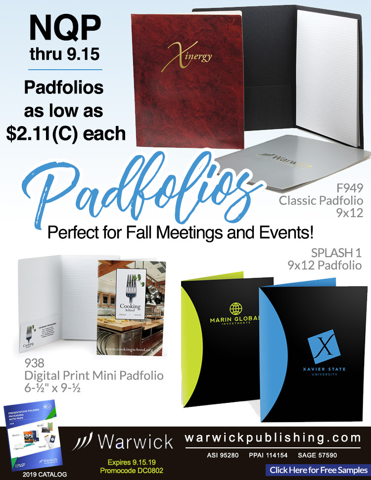 All Padfolios on Sale from Warwick