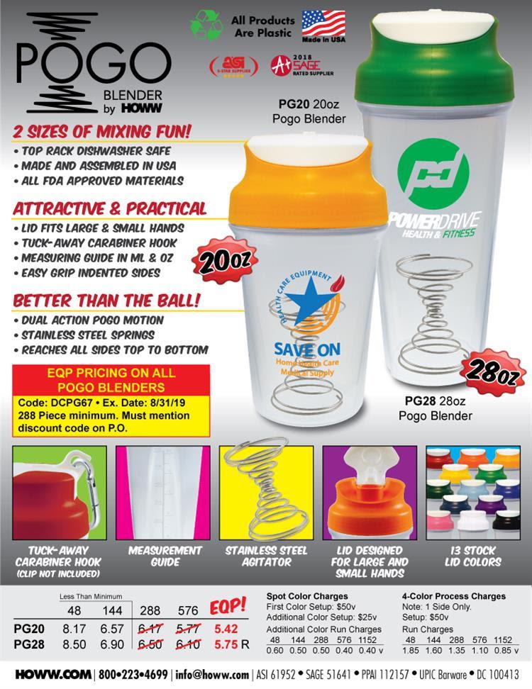 Pogo Blender Sport Shaker