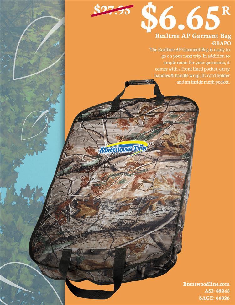 Realtree Garment Bags