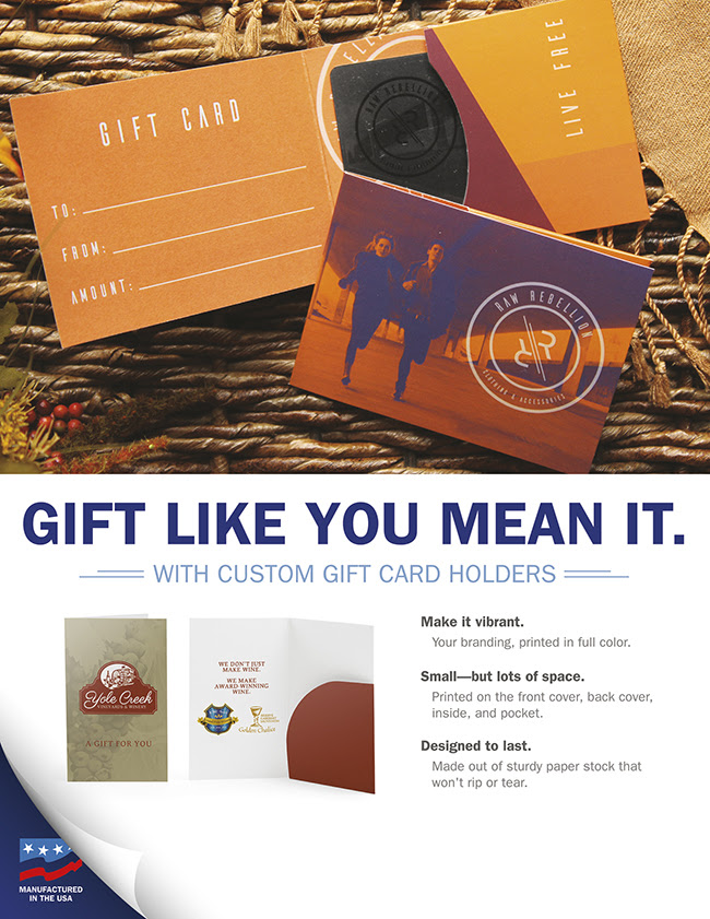Gift like you mean it