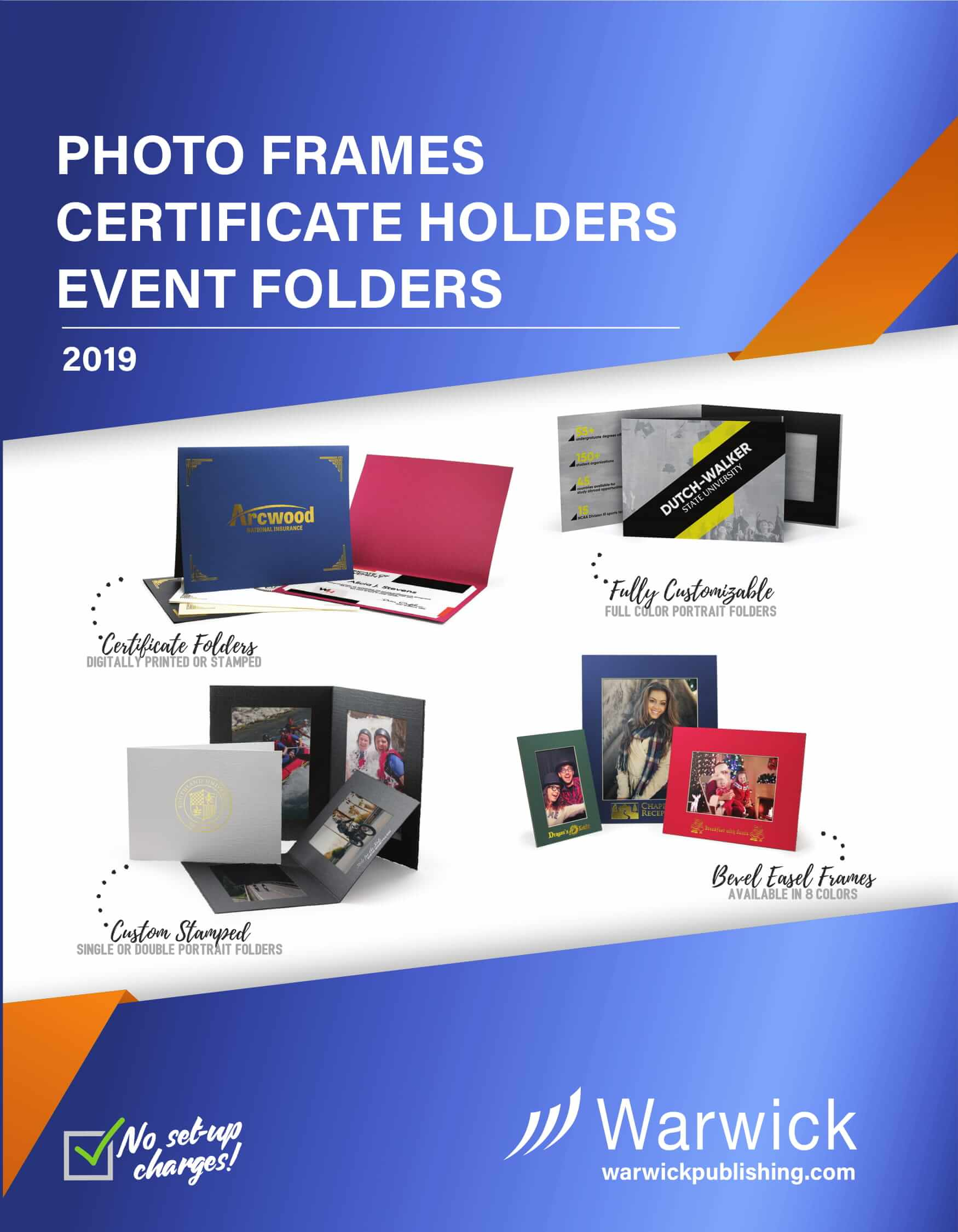 Photo Frames Certificate Holders Event Folders