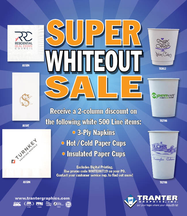 Super Whiteout Sale Ends Soon!