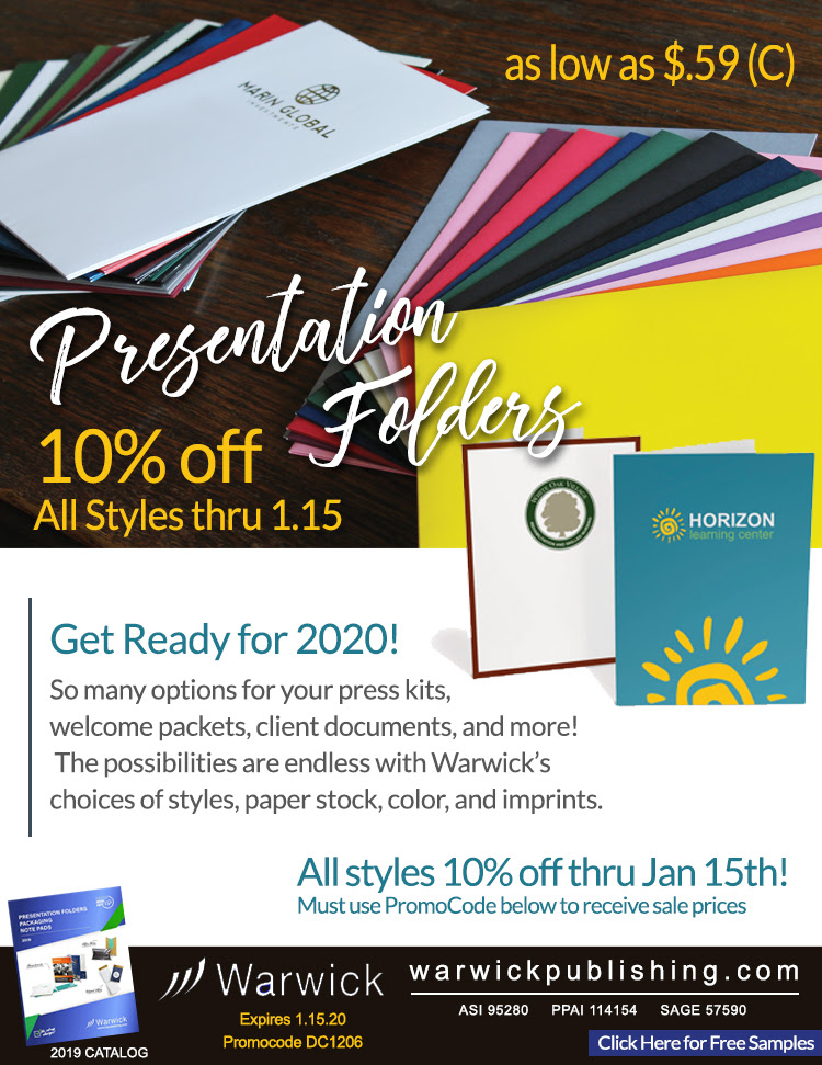 Presentation Folder Warwick