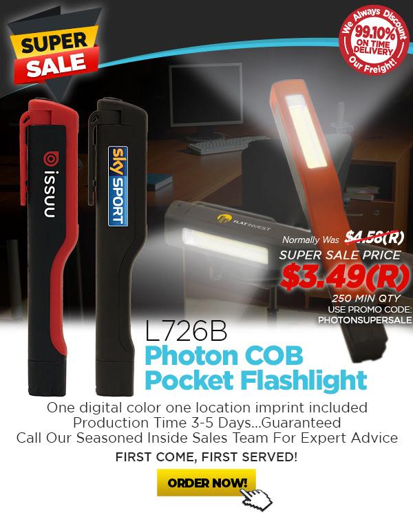 Photon COB Pocket Flashlight