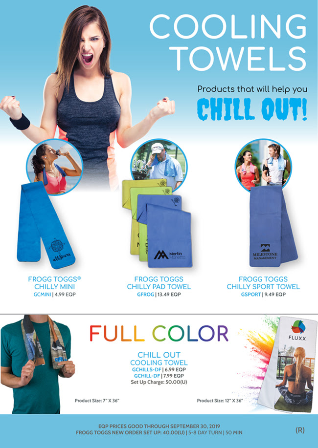 Products that help you CHILL OUT! - Cooling Towels