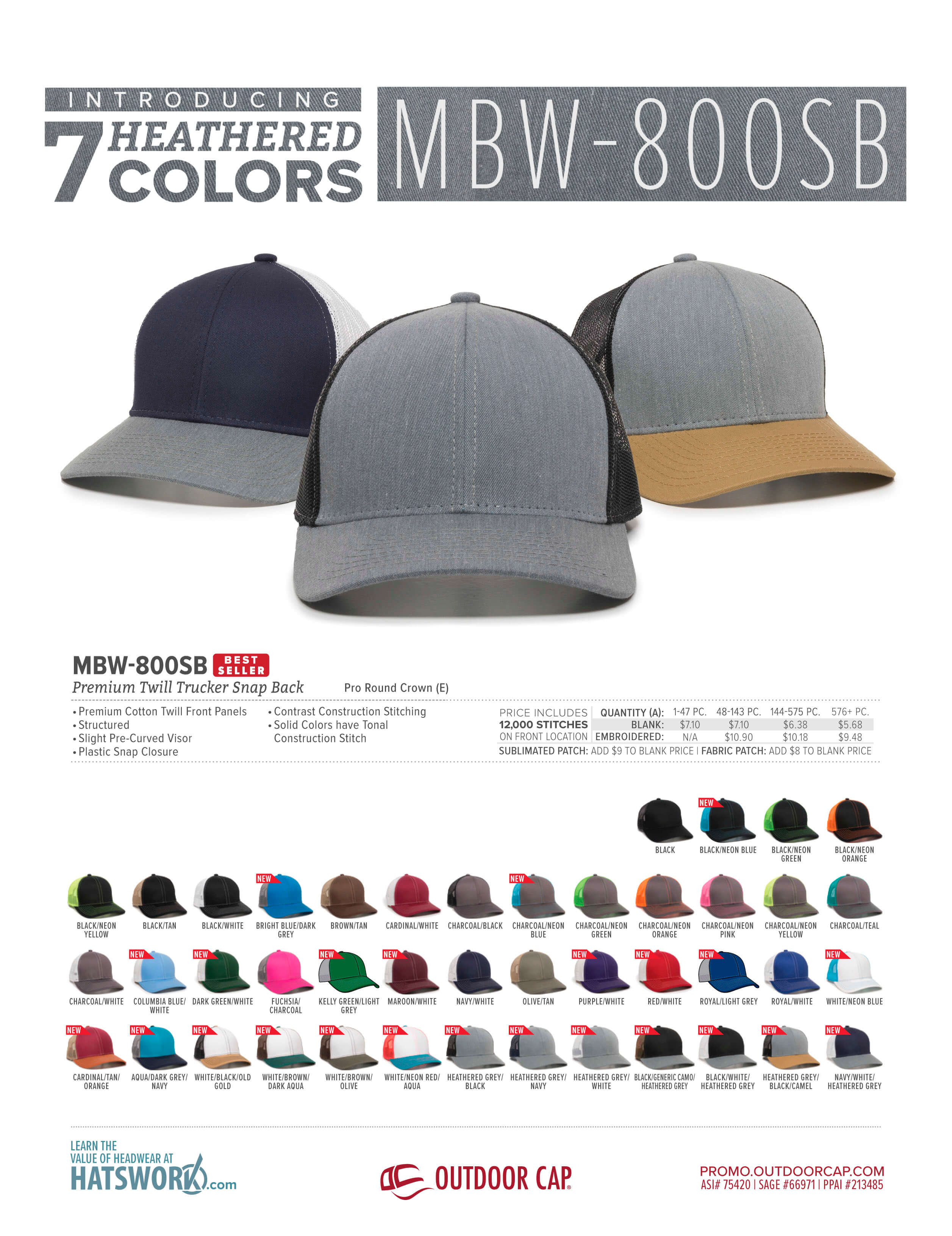 We Just Dropped New Heathered Colors To One Of Our Top Styles