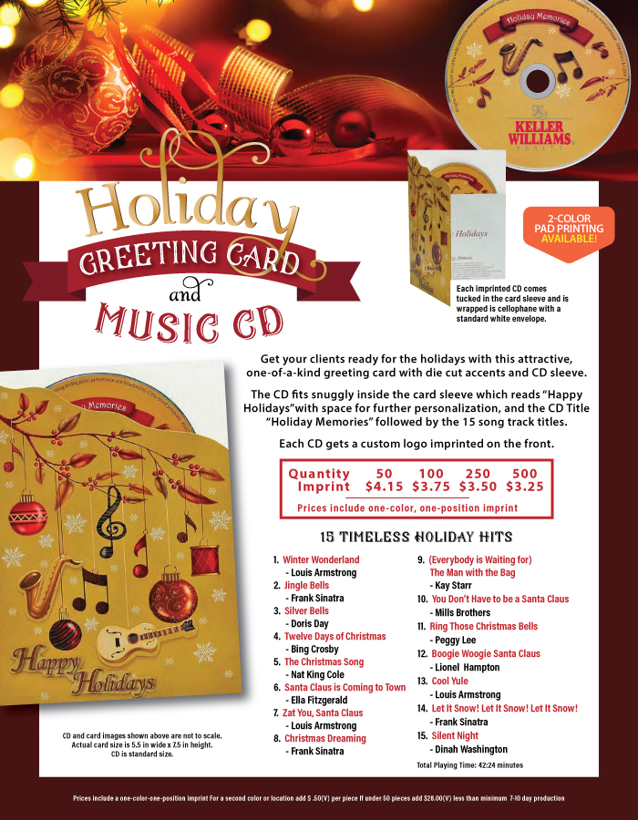 Greeting Card and Music CD
