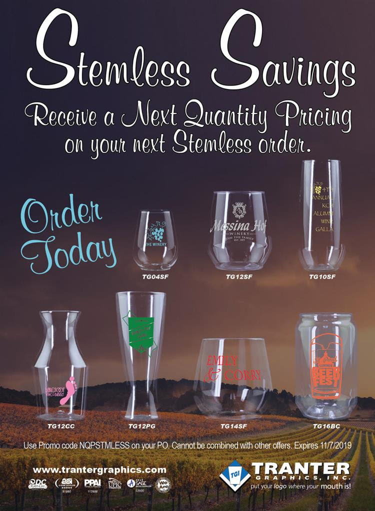 Stemless Savings!