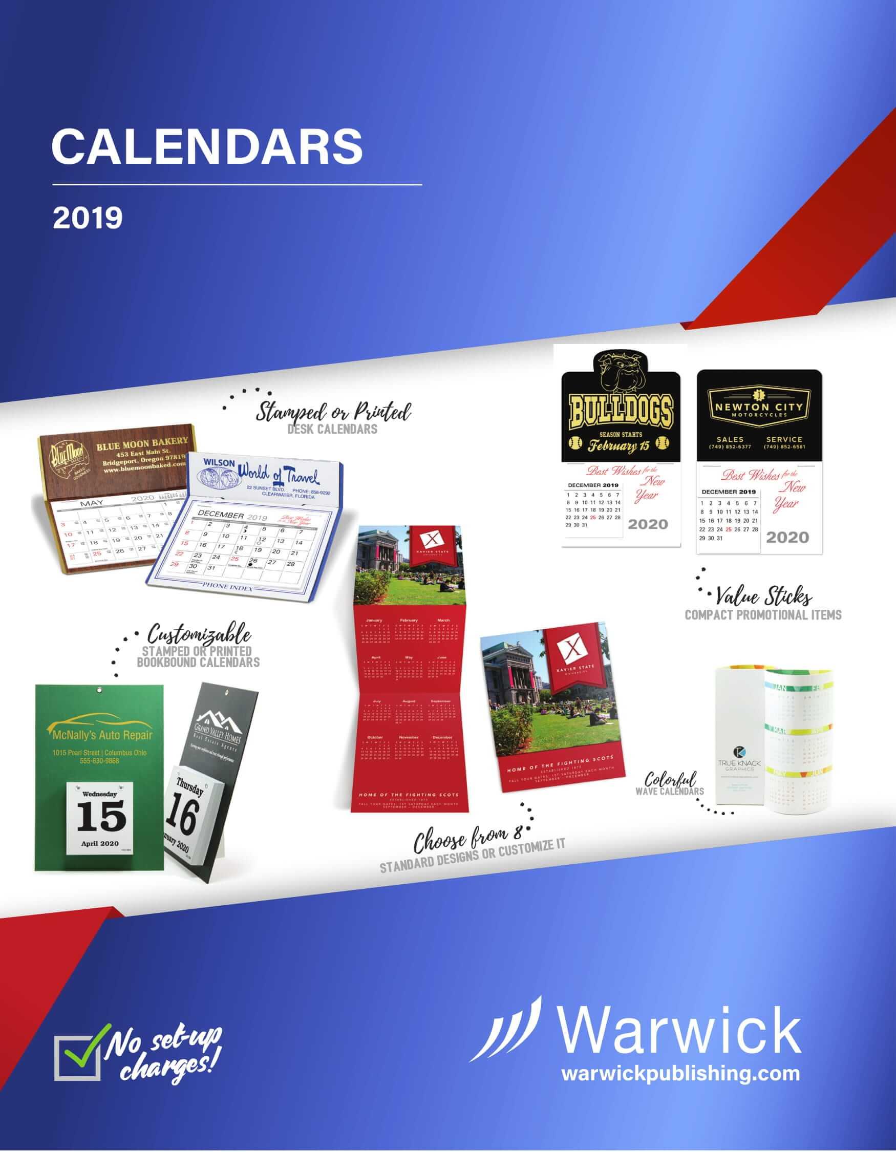 Calendars 2019
