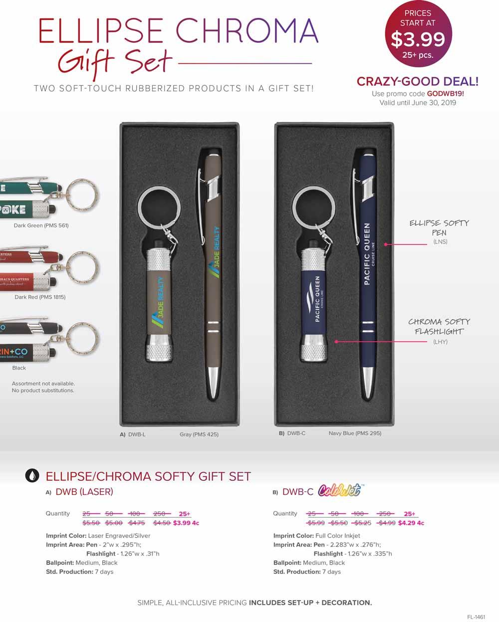Crazy-Good Deal - Ellipse & Chroma Gift Set