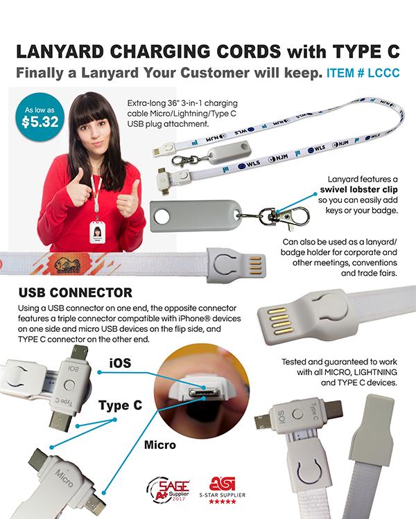 Lanyards Charging Cords