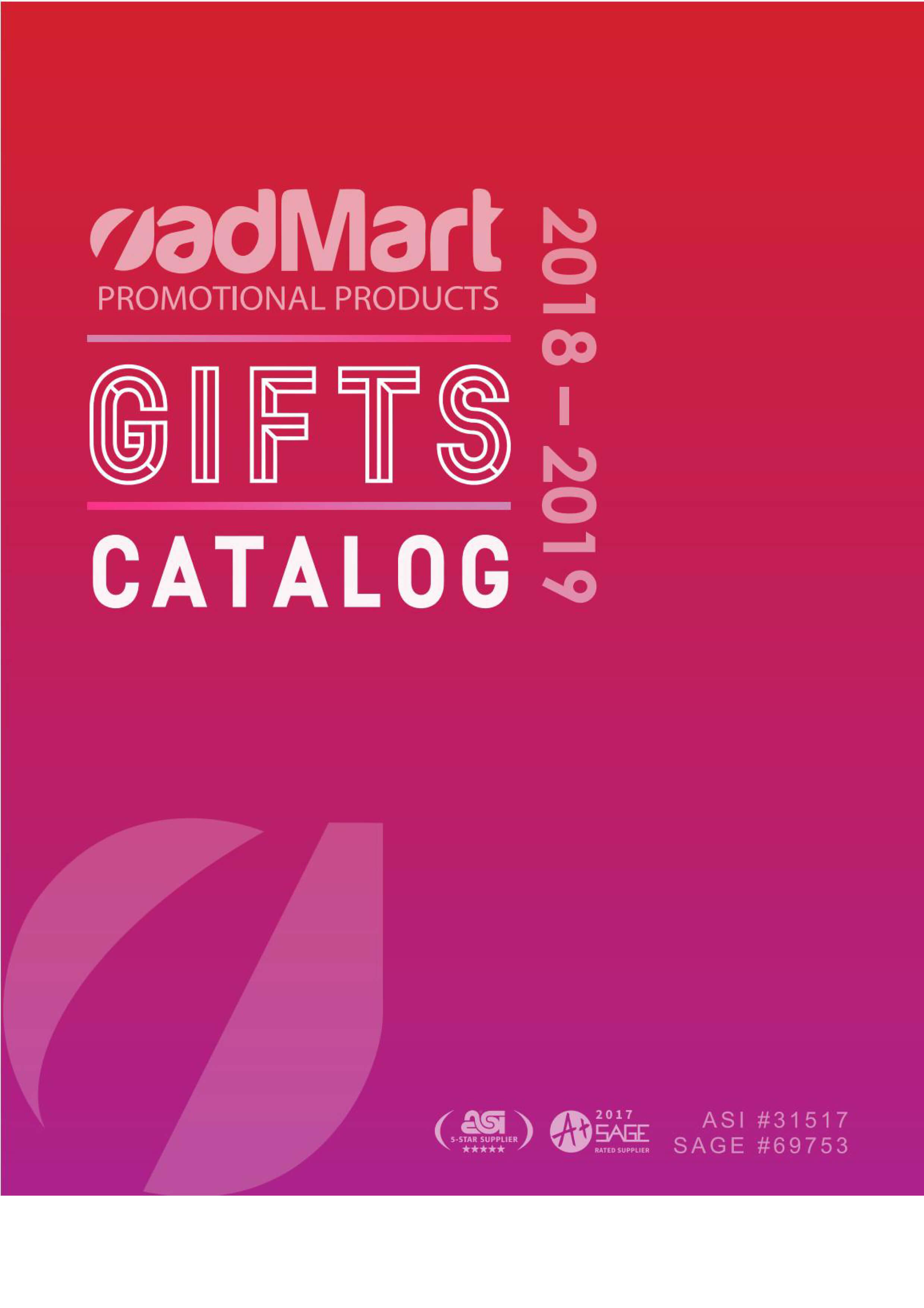 Gifts Catalog 2018-2019