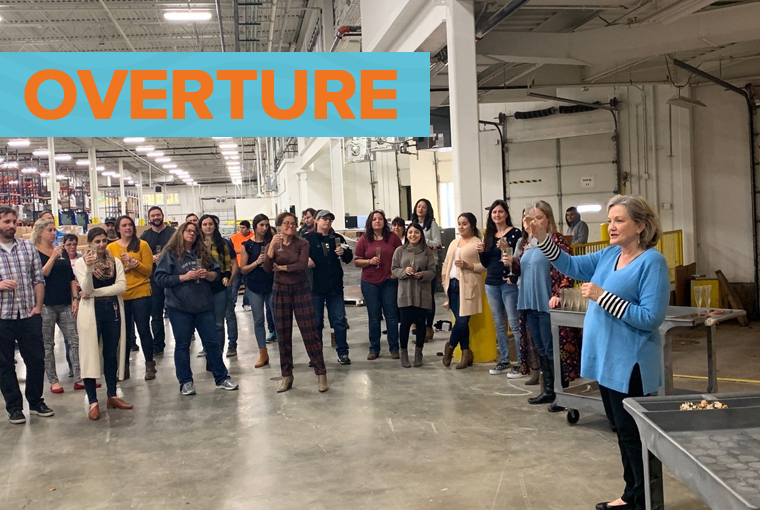 Overture Promotions Opens New Headquarters