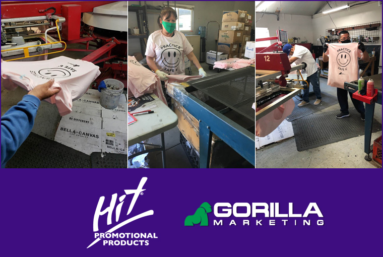 Gorilla Marketing & Hit Promotional Products Collaborated to raise funds For CCUSA