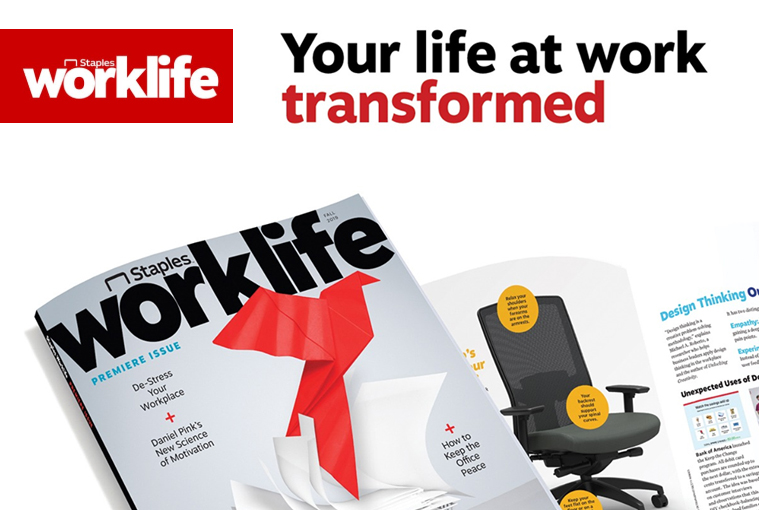 Staples Launches Quarterly Magazine and Workplace Resource