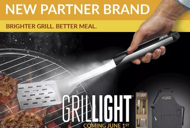 BIC Graphic Partners with Grillight