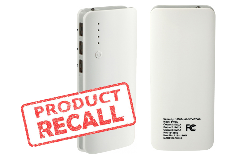 PCNA issues Power Bank Recall