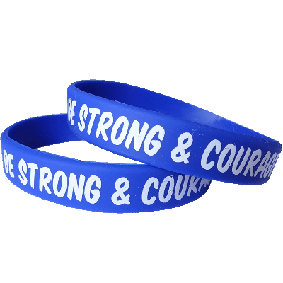 Silicon Wristbands with message